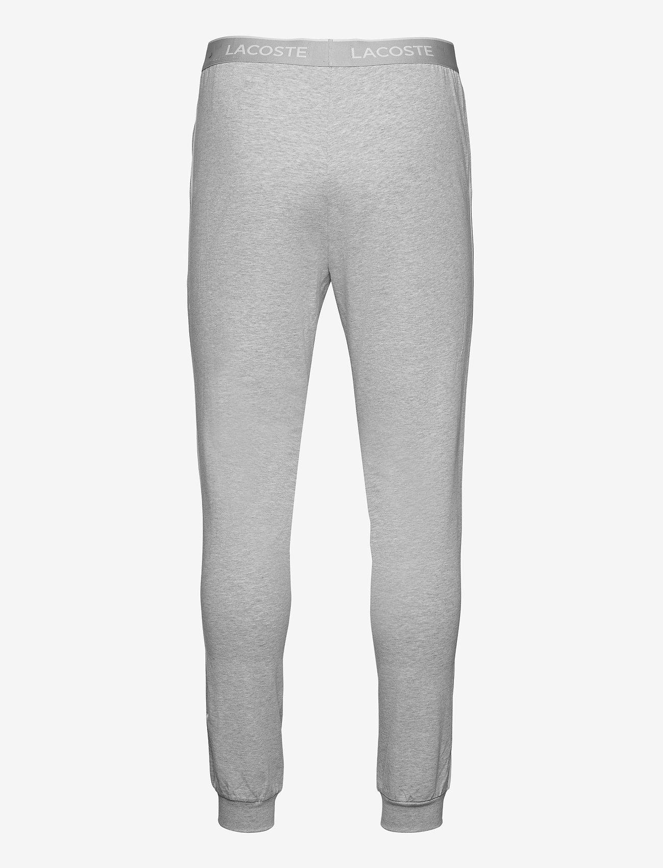 Lacoste - Pyjamas pants men - pyjama's - silver chine/white - 1