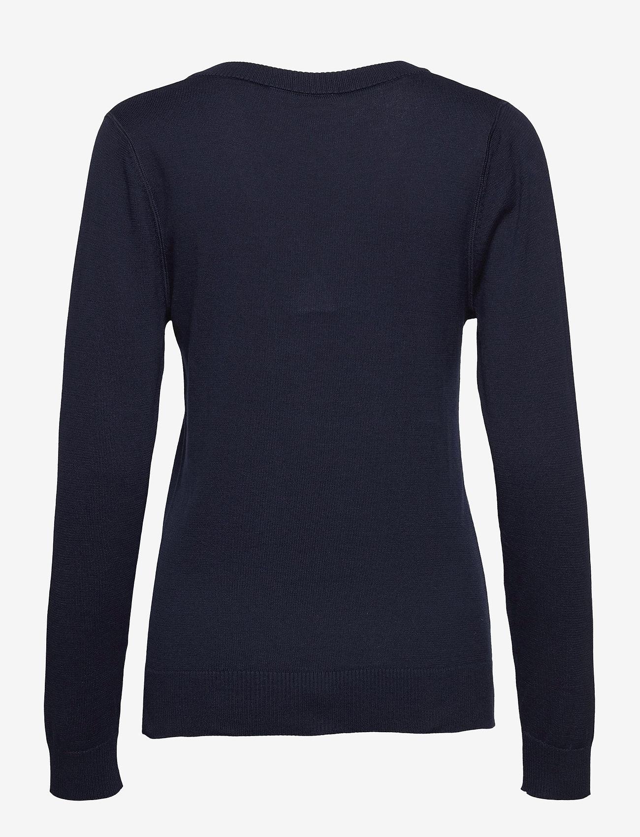 Lacoste - Women s sweater - gebreid - navy blue - 1