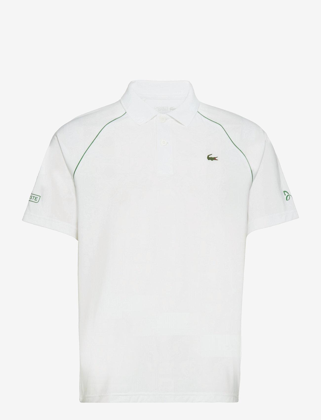 Lacoste - Men s S/S polo - kortærmede - white/yucca - 0