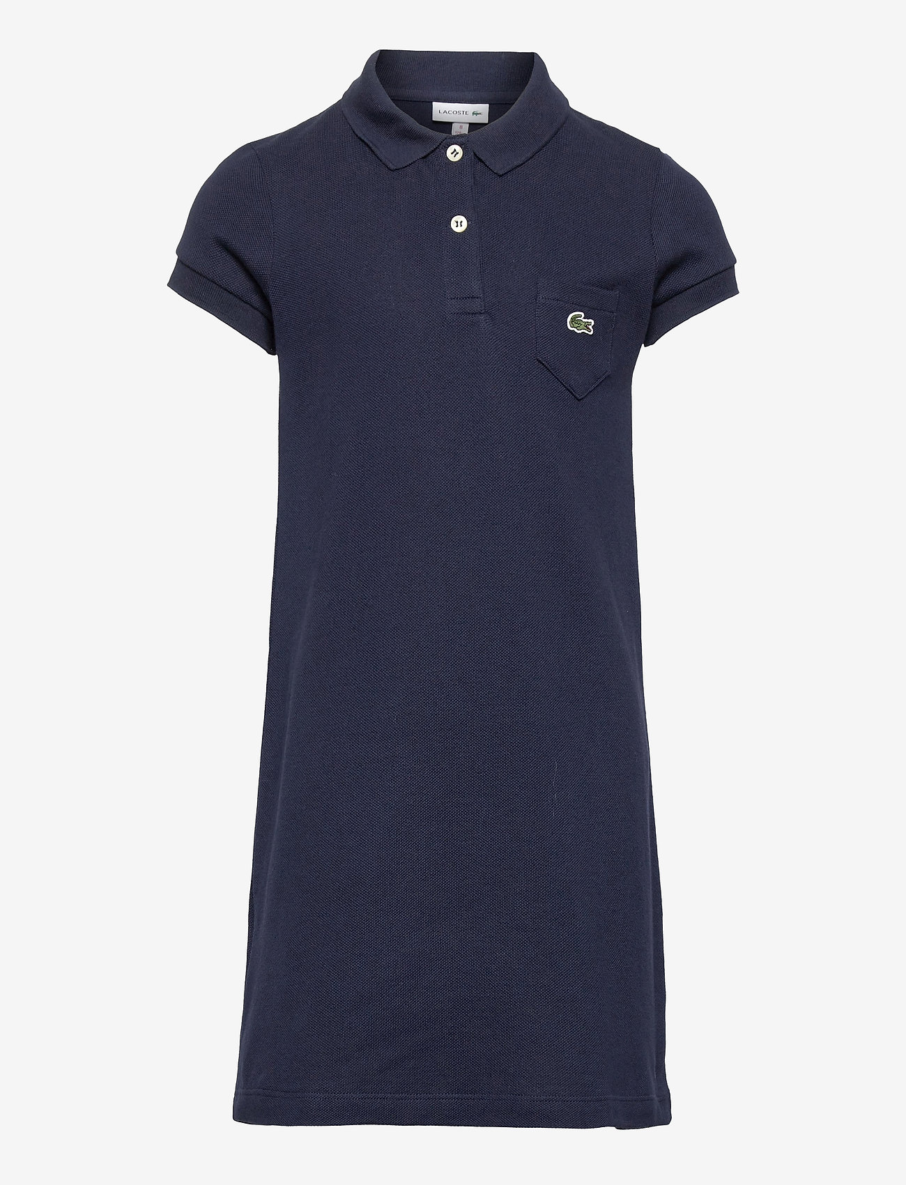 Lacoste - Children dress - jurken - navy blue - 0
