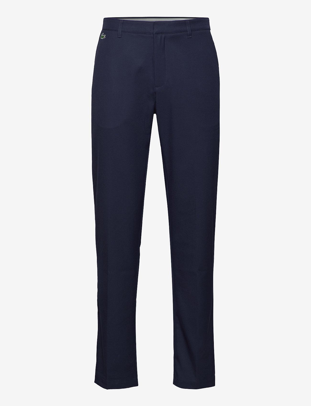 Lacoste - Men s leisure trousers - golf-housut - navy blue - 0