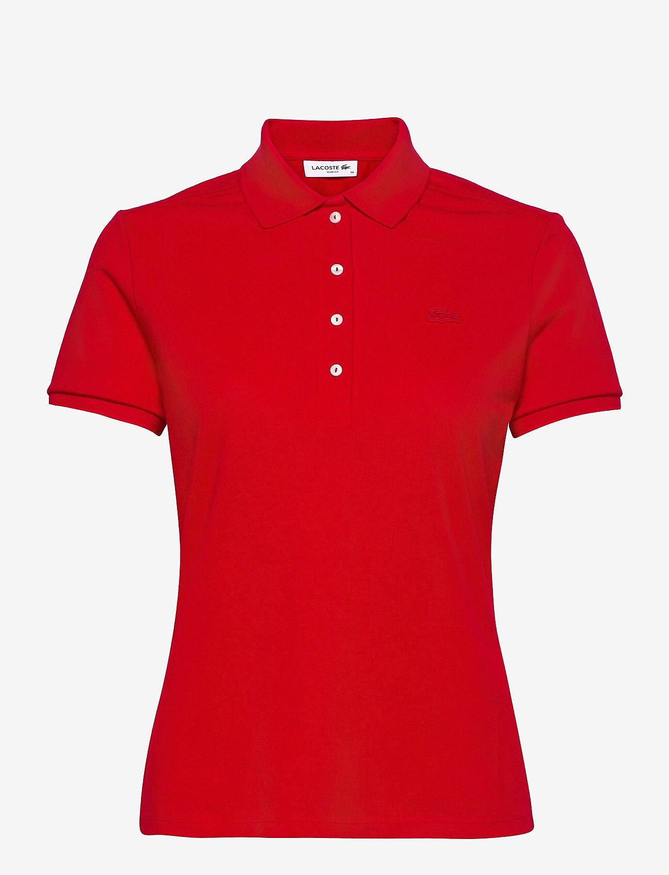 Lacoste - Women s S/S polo - polohemden - red - 0