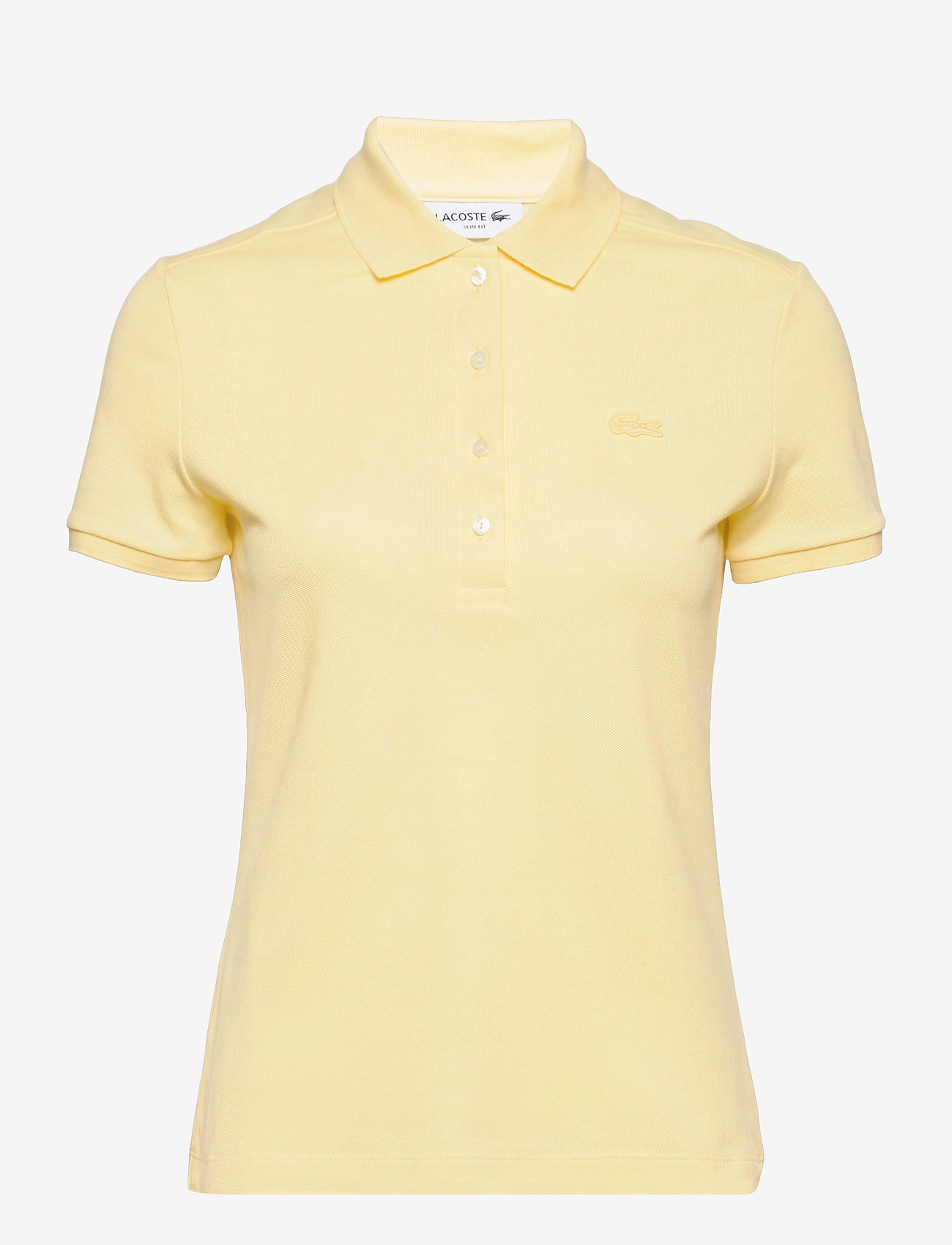 Lacoste - Women s S/S polo - polohemden - zabaglione - 0