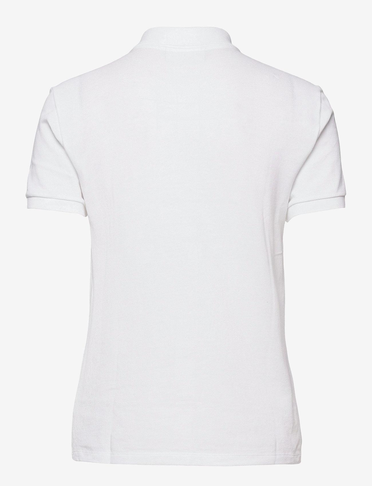 Lacoste - Womens S/S best polo - polohemden - white - 1