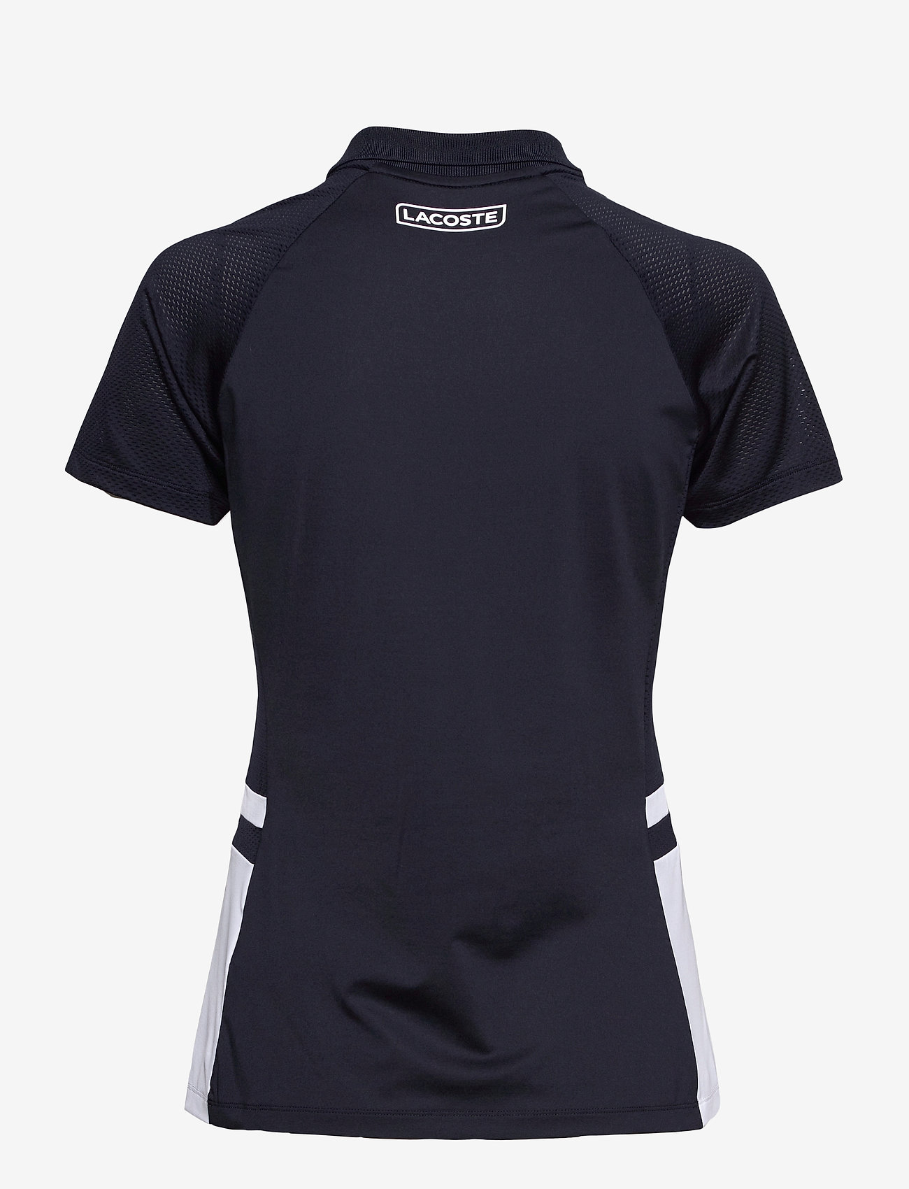 Lacoste - Women s S/S polo - polo's - navy blue/white-navy blue - 1