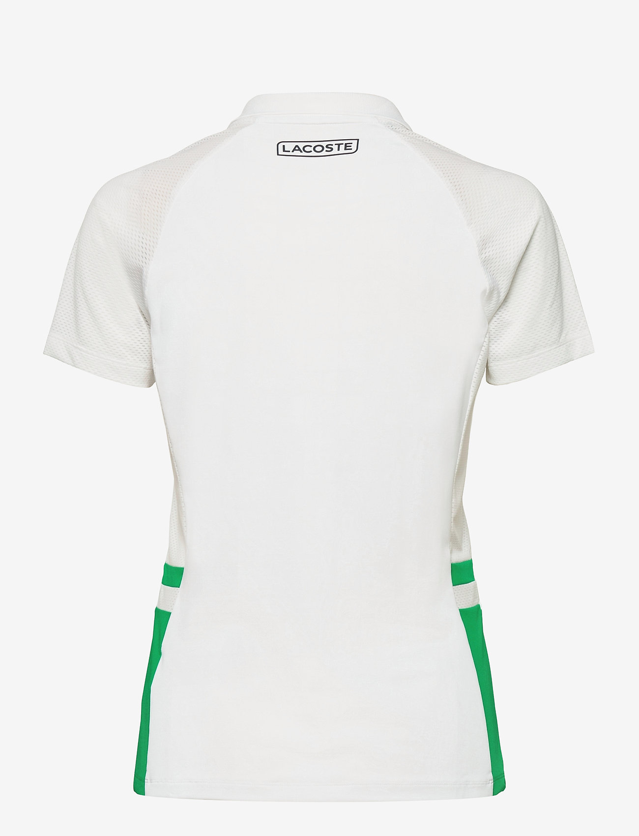 Lacoste - Women s S/S polo - polo's - white/palm green-navy blue - 1