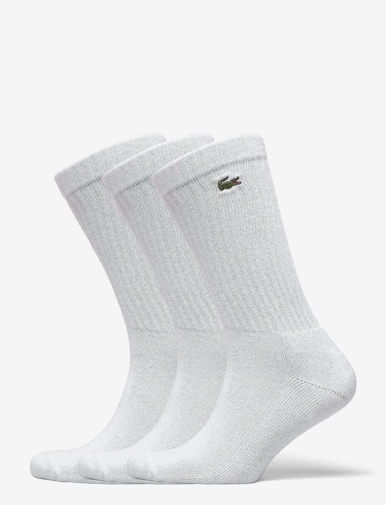 Lacoste - Socks - sokker - white/white-white - 0