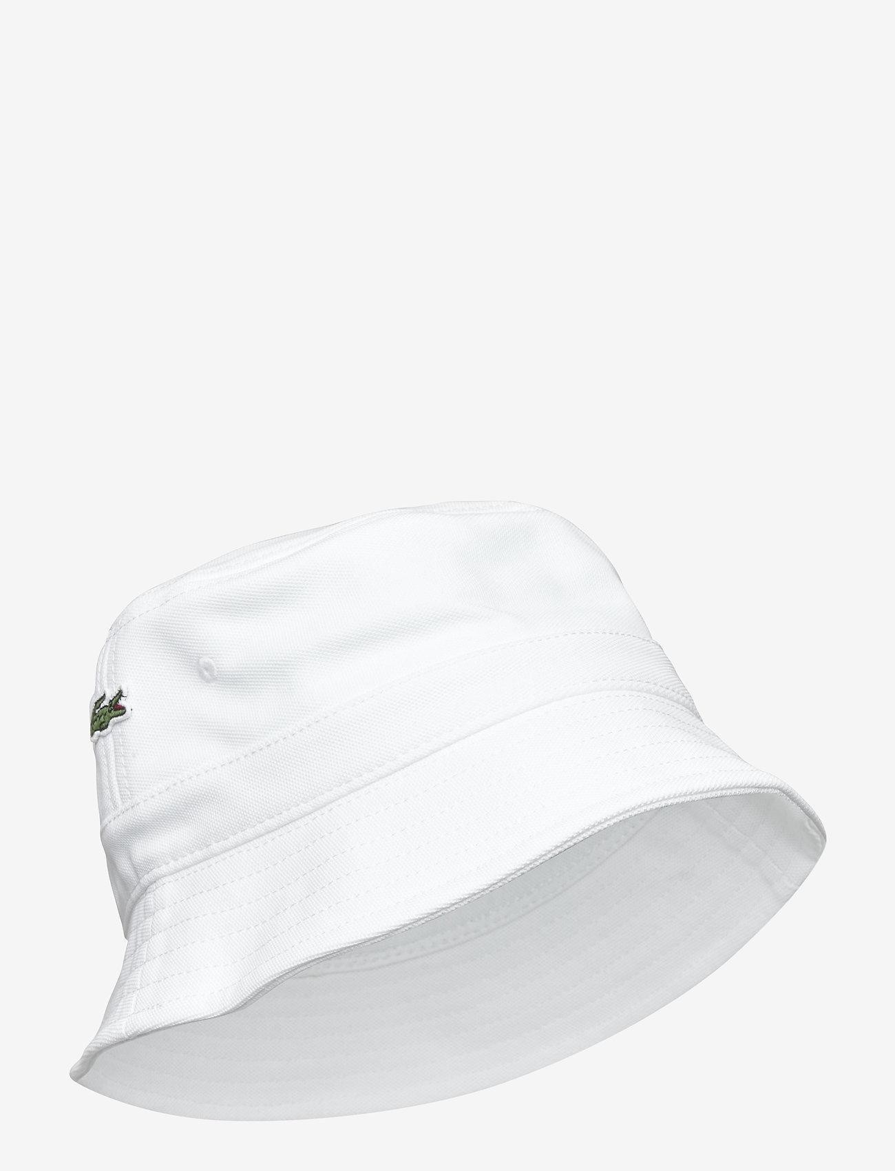 Lacoste - Cap - bucket hats - white - 0