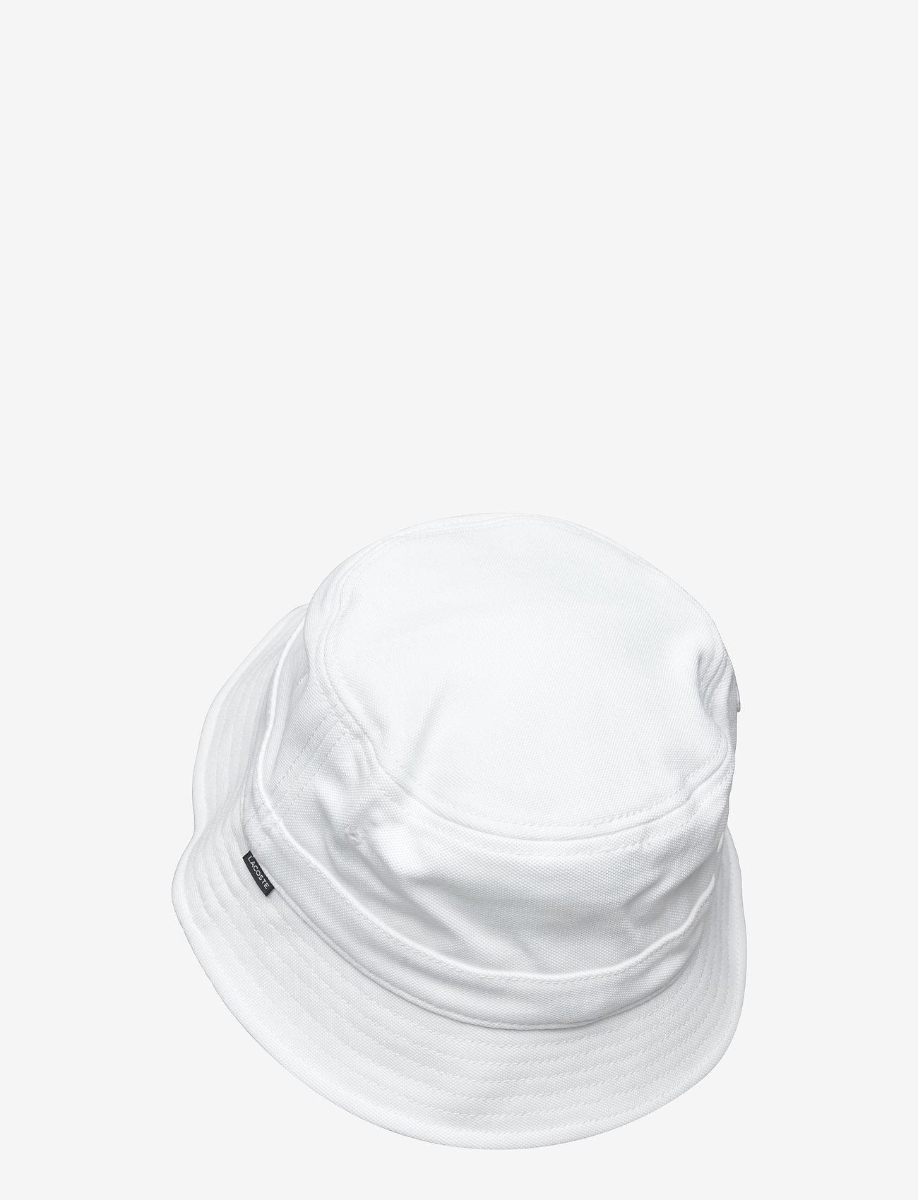 Lacoste - Cap - bucket hats - white - 1