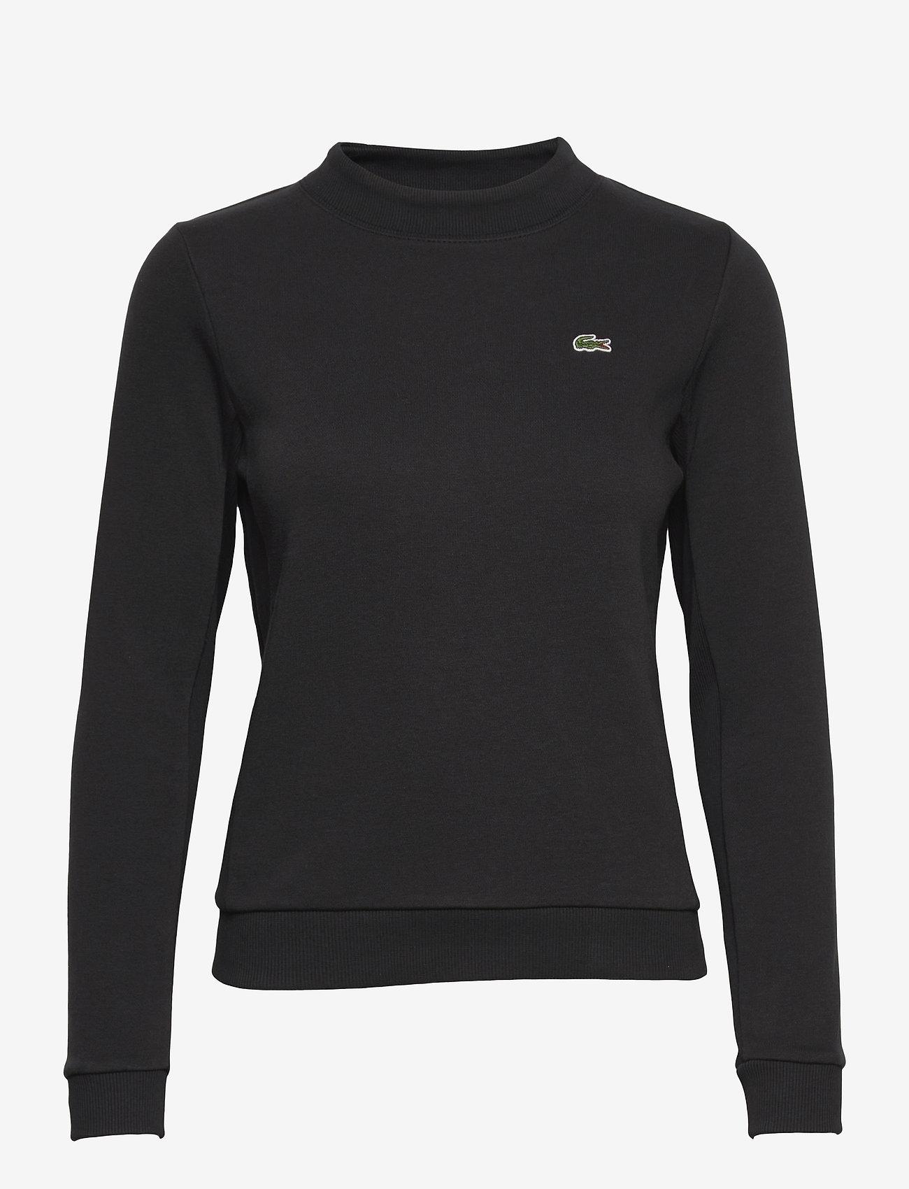 Lacoste - Women s sweatshirt - sweatshirts - black - 0
