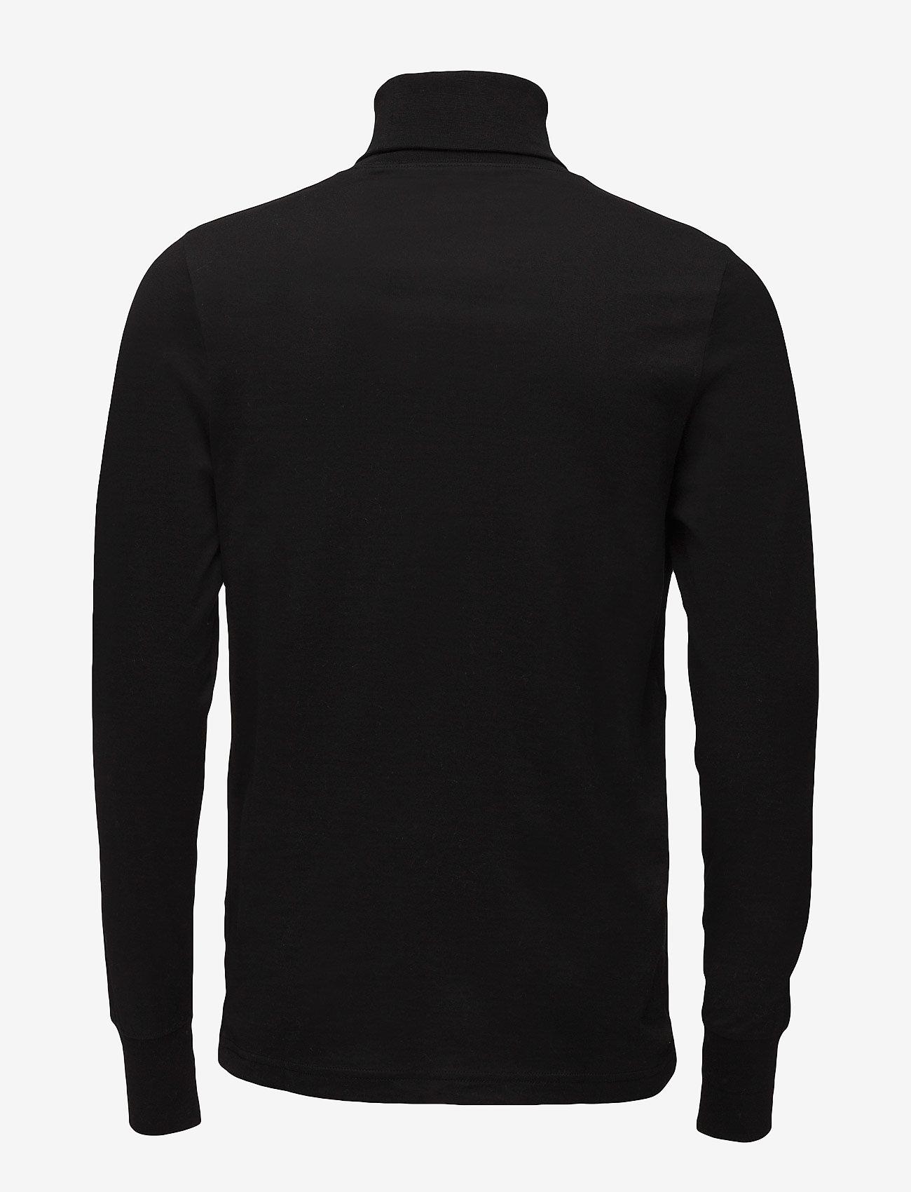 Lacoste - TEE-SHIRT&TURTLE NECK - golfy - black - 1