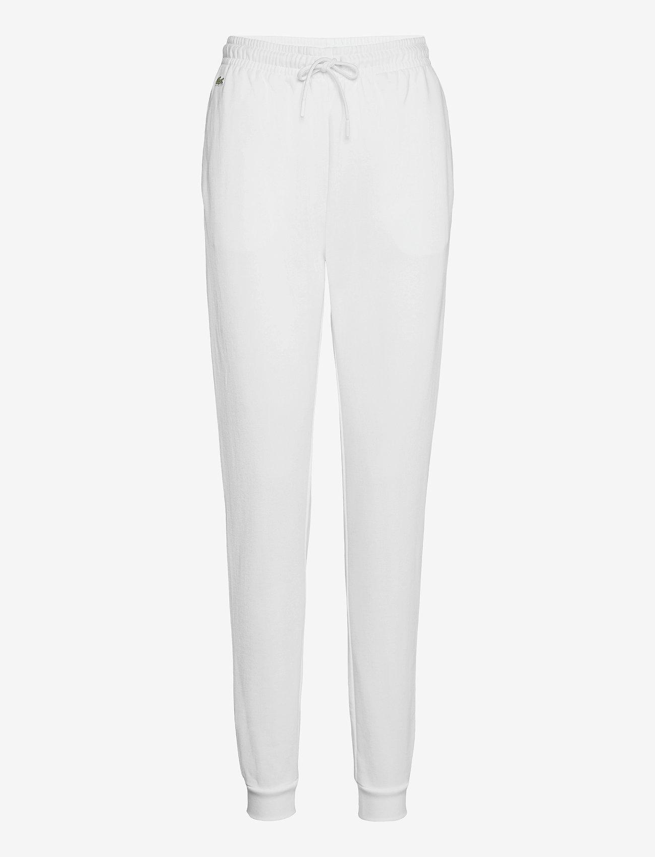 Lacoste - Women tracksuit trousers - sportbroeken - white - 0