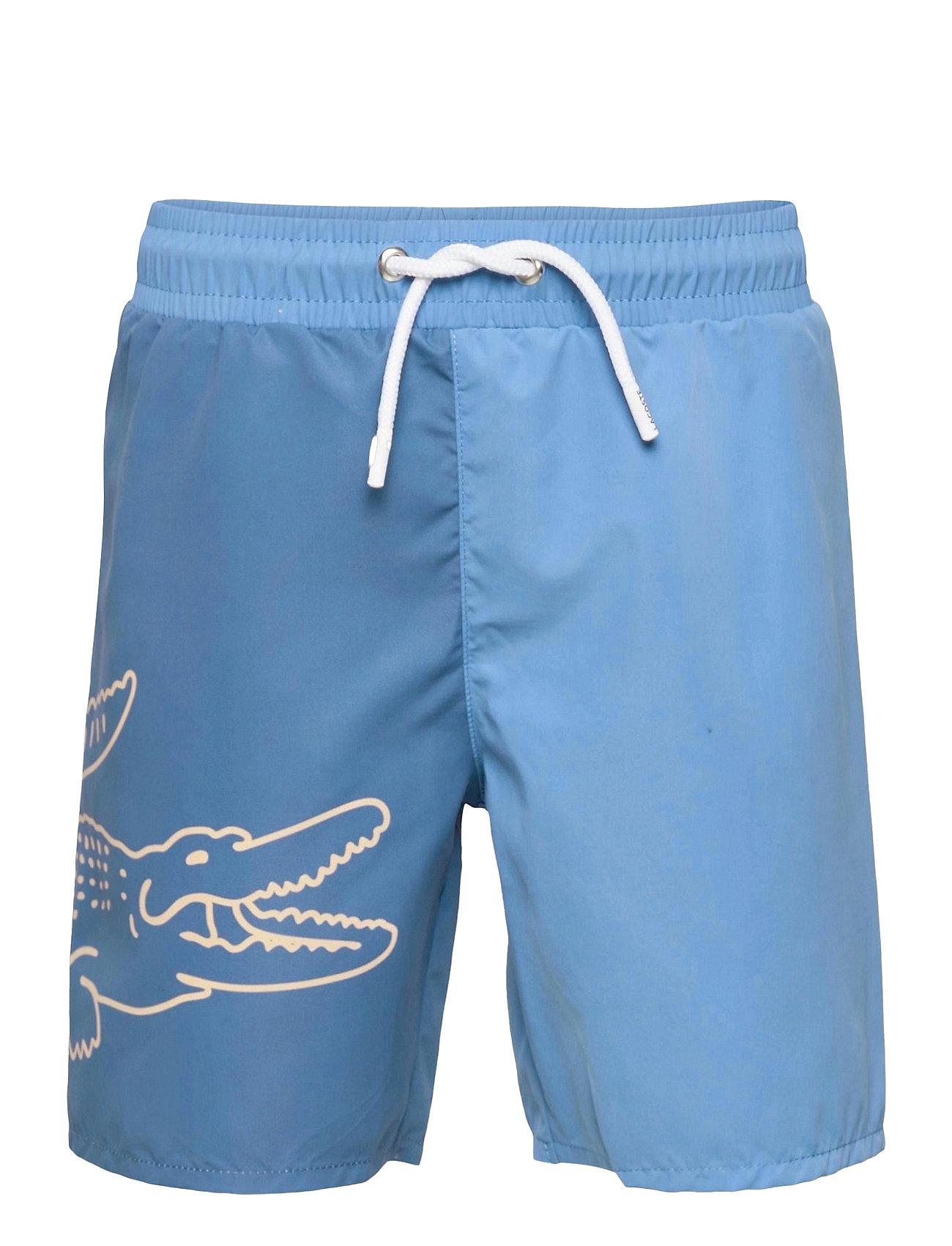 Children Swimsuit Badeshorts Blå Lacoste