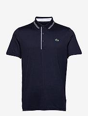 Lacoste - Men s S/S polo - kortærmede - navy blue/navy blue-white - 0