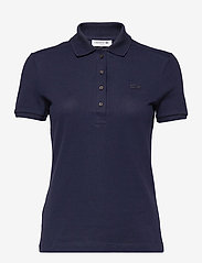 Women s S/S polo - NAVY BLUE