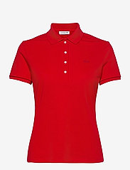 Women s S/S polo - RED