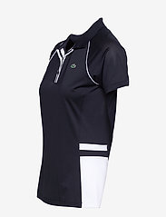 Lacoste - Women s S/S polo - polo's - navy blue/white-navy blue - 2