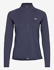 Lacoste - Women s sweatshirt - fleece - navy blue/navy blue - 0