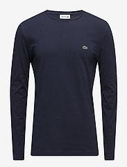 Lacoste - TEE-SHIRT&TURTLE NECK - langärmelig - navy blue - 0