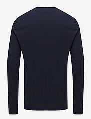 Lacoste - TEE-SHIRT&TURTLE NECK - langärmelig - navy blue - 1