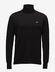 Lacoste - TEE-SHIRT&TURTLE NECK - golfy - black - 0