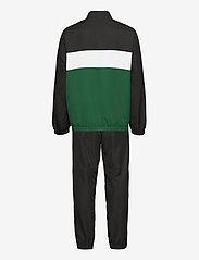 Lacoste - Men s tracksuit - træningsdragter - black/bottle green-white - 1
