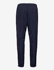 Lacoste - Men s tracksuit - dresy - ruby/navy blue-white - 3