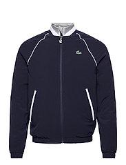 Men s jacket - NAVY BLUE/SILVER CHINE-WHITE