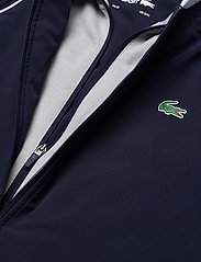 Lacoste - Men s jacket - golf jackets - navy blue/silver chine-white - 2