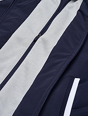 Lacoste - Men s jacket - golf jackets - navy blue/silver chine-white - 4