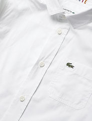 Lacoste - Children L/S woven shirt - shirts - white - 2