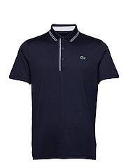 Men s S/S polo - NAVY BLUE/NAVY BLUE-WHITE