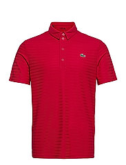 Men s S/S polo - RUBY