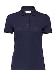 Women s S/S polo - NAVY BLUE