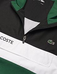 Lacoste - Men s tracksuit - træningsdragter - black/bottle green-white - 6