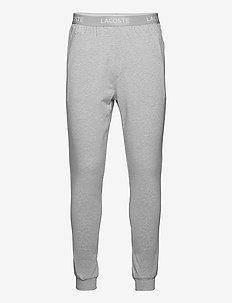 Pyjamas pants men - pyjama's - silver chine/white