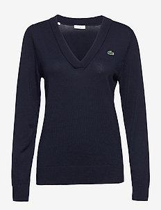 Women s sweater - gebreid - navy blue