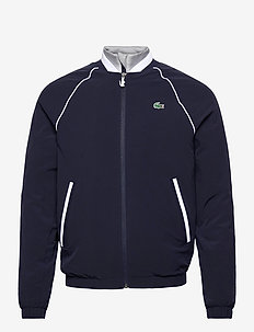 Men s jacket - golf jassen - navy blue/silver chine-white
