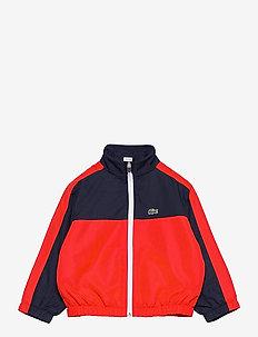 Children jacket - windbreaker jassen - navy blue/redcurrant bush