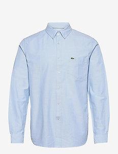 Mens shirt - chemises basiques - hemisphere blue