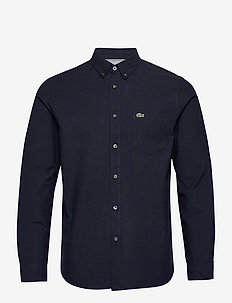 Mens shirt - basic shirts - navy blue/navy blue