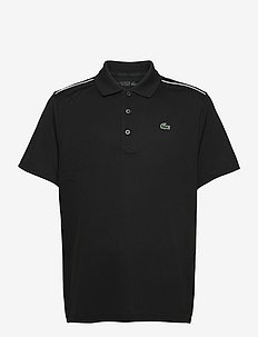 Mens S/S Polo - polos - black/white