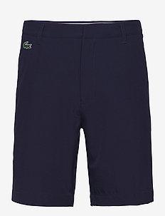 Men s bermuda shorts - golf shorts - navy blue
