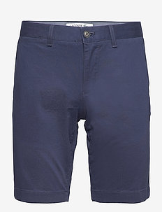 Men s bermuda shorts - chinos shorts - navy blue