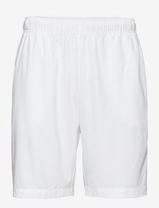 Mens shorts - chaussures de course - white/navy blue