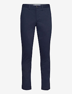 Men s leisure trousers - chino's - navy blue