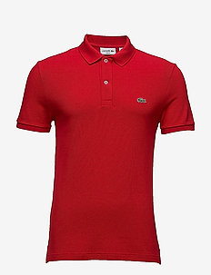Men s S/S polo Slim fit - polos à manches courtes - red