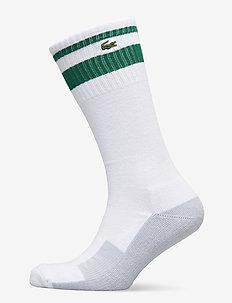 RA9715-00_DU7 - vanlige sokker - white/bottle green-armour