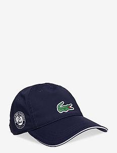 Cap - caps - navy blue/white-white