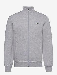 Mens sweatshirt - truien - silver chine/elephant grey